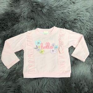 First Impressions | Girls 'Hello' Sweatshirt